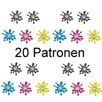 Aktion - 20 Patronen ersetzen Epson T1631-4
