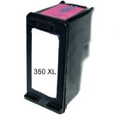 Druckerpatrone ersetzt HP Nr. 350 XL Schwarz