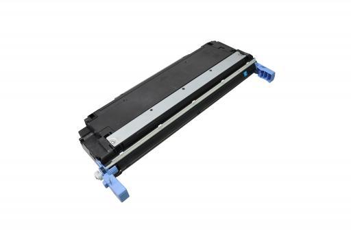 Toner ersetzt HP 645A Cyan