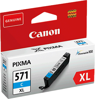 Tintenpatrone Canon Cli-571XL C