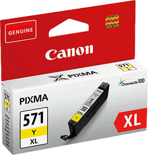 Tintenpatrone Canon Cli-571XL Y