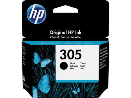 HP Original Tintenpatrone 305 Schwarz