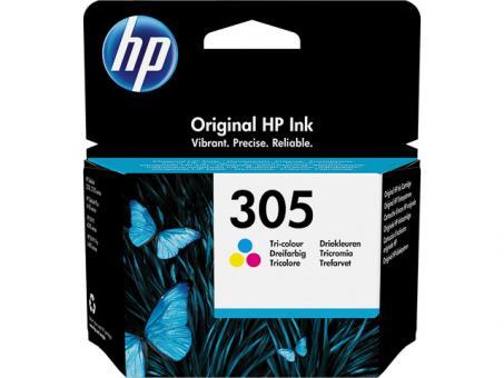 HP Original Tintenpatrone 305 Farbe