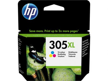 HP Original Tintenpatrone 305 XL Farbe
