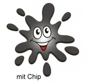 Druckerpatrone mit Chip ersetzt Brother LC123BK schwarz