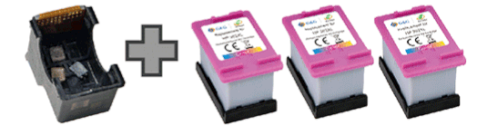 Ecosaver Patronen Set ersetzt HP 304XL Farbe