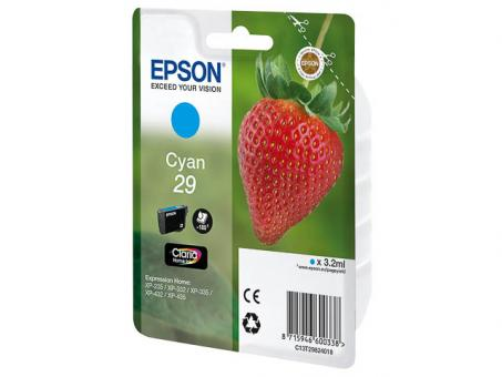 Original Epson 29 Cyan