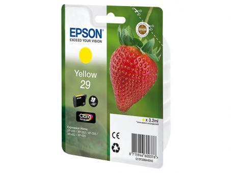 Original Epson 29 Gelb
