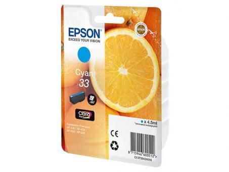 EPSON Patrone 33 Cyan