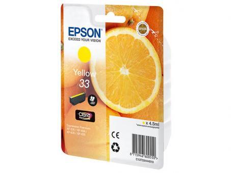 EPSON Patrone 33 Gelb