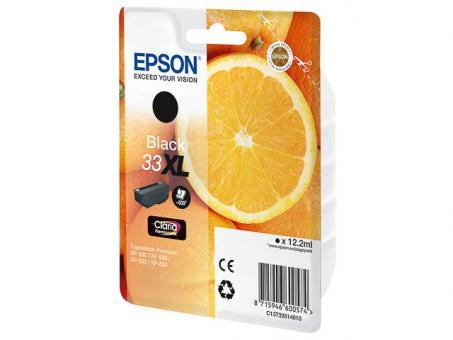 EPSON Patrone 33XL Schwarz