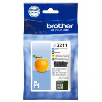 Original Brother Multipack LC3211 Black/Cyan/Magenta/Yellow