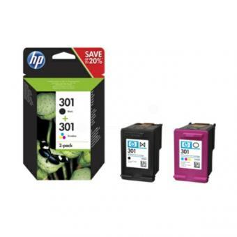 301 HP Tintenpatronen Multipack schwarz und dreifarbig