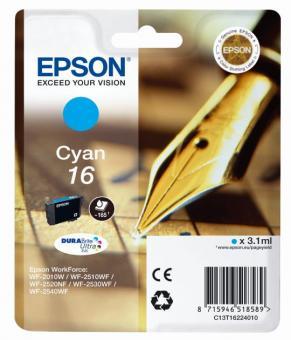 Tintenpatrone 16 Epson Cyan