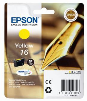 Tintenpatrone 16 Epson Gelb