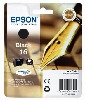 Tintenpatrone 16 Epson Schwarz