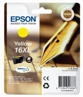 Tintenpatrone 16XL Epson Gelb