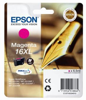Tintenpatrone 16XL Epson Magenta