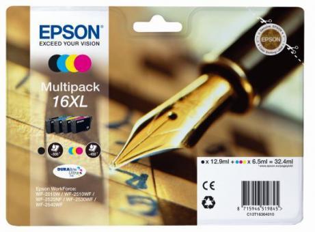 Tintenpatronen 16XL Epson Multipack